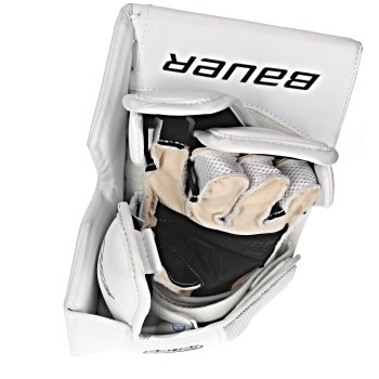 Bauer Supreme S190 Goalie Blocker Senior white (2)